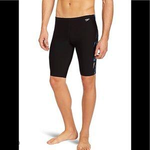 NWT Speedo Endurance+ Jammer Swim Shorts Sz 30